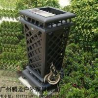 园林环卫垃圾筒高档别墅小区学校垃圾桶室外公园不锈钢垃圾箱