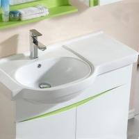 带台面洗脸盆台上盆陶瓷洗手盆洗衣盆一体台盆柜盆90公分左盆