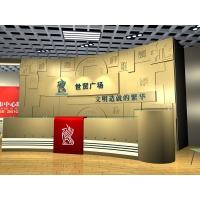 上海浦东logo形象墙制作