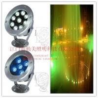 供应大功率LED水底灯喷泉灯销售成绩高端水底灯