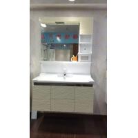 杭州萧山浴室柜厂家洗手盆PVC浴室柜647n
