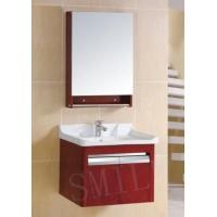 杭州萧山思迈尔浴室柜厂家橡木浴室柜洗手盆带镜柜646