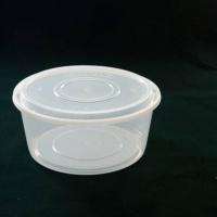 圆形塑料盒