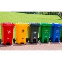 南京垃圾桶-塑料垃圾桶(脚踩)-南京鹏茂塑料制品