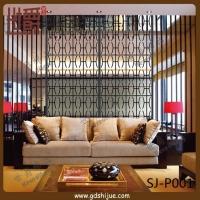 雕花铝合金屏风 客厅装饰屏风 世爵屏风