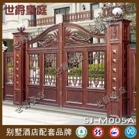 别墅平开门 围墙大门 欧式精铸大门
