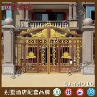 高档庭院门 酒店会所铸铝大门 古典风格大门