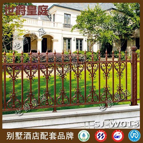 铝艺围栏 别墅豪宅栏杆 高档栏杆围墙