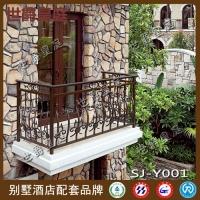 铝合金阳台护栏 户外围栏走廊栏杆