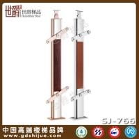 铝合金夹木方管立柱 别墅室内立柱