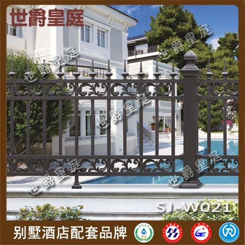 铸铝欧式庭院围墙 酒店花园铝合金围栏