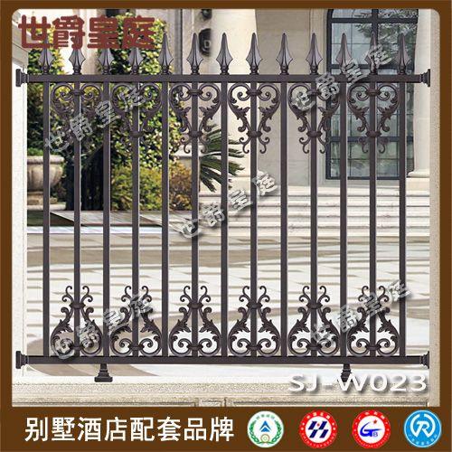 别墅花园铝合金围栏 欧式铝艺酒店围墙护栏