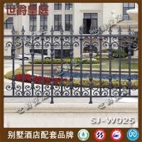 高档铸铝花园护栏 别墅庭院铝合金围墙护栏