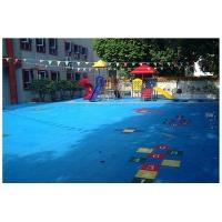 幼兒園操場改造的新材料--懸浮拼裝地板
