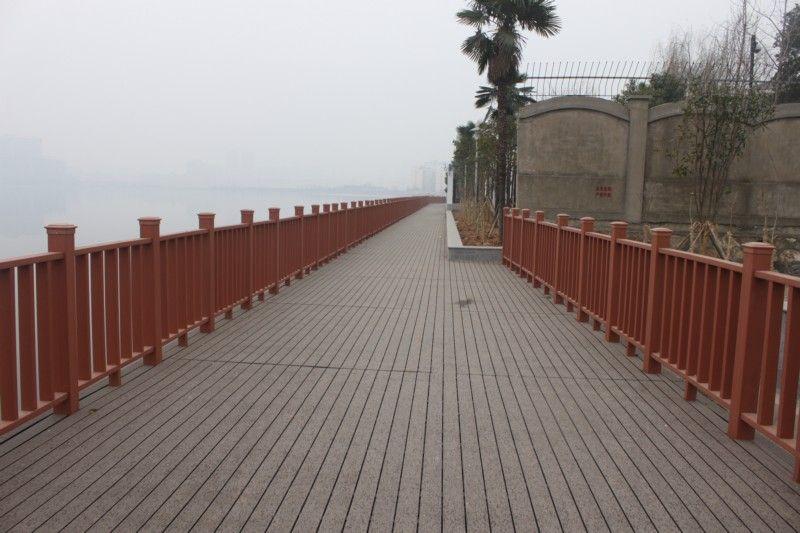 西安塑木护栏地板