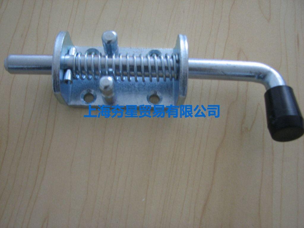 不锈钢材质弹簧插销弹簧栓活动插销门锁插