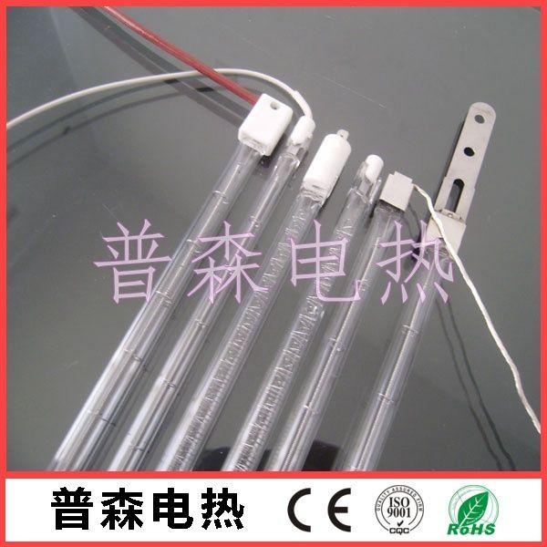 黑色螺旋丝发热体石英管加热器红外线辐射灯管价格