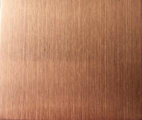 杭州嘉尚牌玫瑰金拉丝100高度成品不锈钢踢脚线