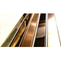 304镜面不锈钢踢脚线本店特价供应300米
