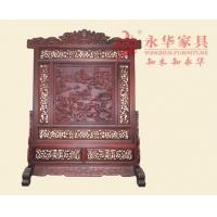 广州红木家具 永华中式红木屏风客厅家居