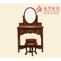 永华红木家具 中式仿古梳妆台优雅精致卧房家具