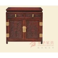 番禺红木家具 草龙系列古典家具@红木餐边柜