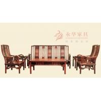 广东红木沙发 古典客厅家具 永华红木家具草龙系列