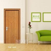 PVC室内免漆套装门、复合烤漆门、实木门