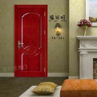 厂家直销原木门   实木复合烤漆门 PVC室内免漆套装门