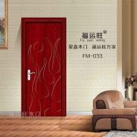 厂家供应PVC免漆室内推拉门套装门 批发实木门 复合烤漆门