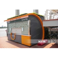 钢结构氟碳喷漆售货亭