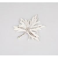 南京晶冠移门配套材料-雕刻门小配件白色枫叶19号