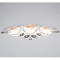 南京晶冠移门配套材料-金白油锌合金花601号