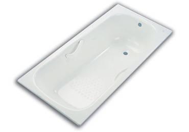 钢板搪瓷浴缸产品图片