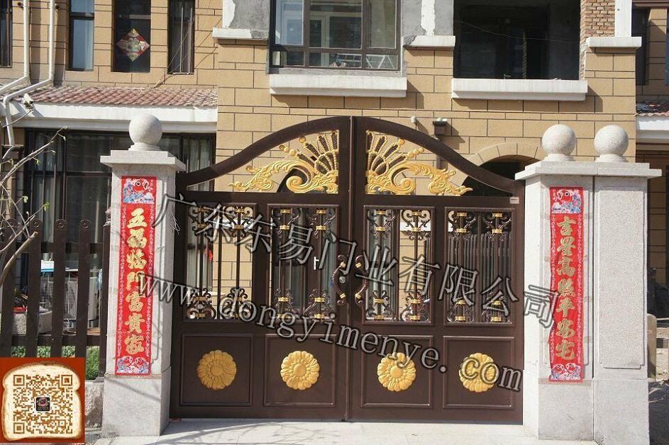 别墅大门造型 别墅大门门楼 现代别墅大门设计 院子门