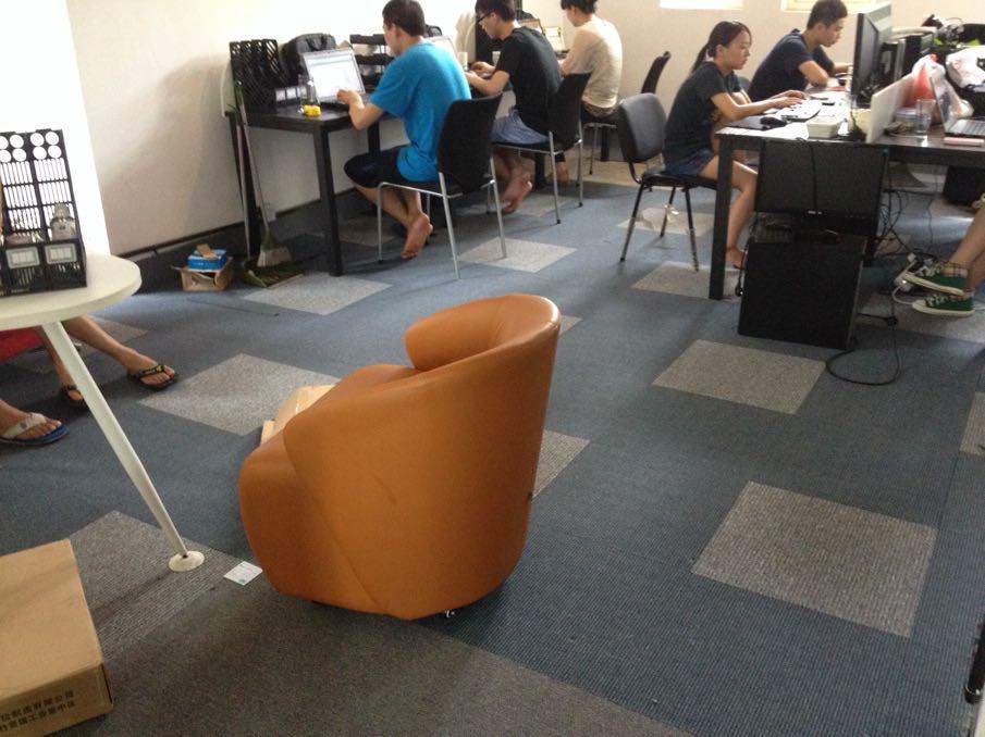 长沙欧叶地毯销售办公室方块地毯