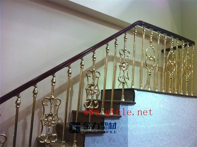 湖南金力型材铝艺楼梯扶手