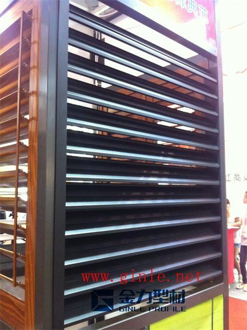 湖南金力型材铝艺百叶窗