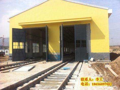 工厂车间钢大门 02J611 1图集钢大门