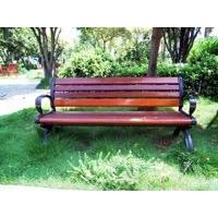 供铸铁公园椅实木户外休闲椅户外休闲桌椅户外公园椅