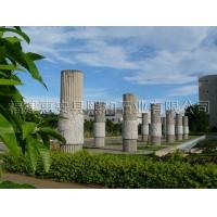广场柱石雕文化柱 校园文化柱