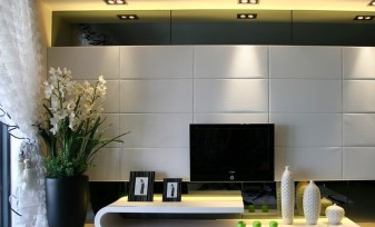 电视墙怎么装修软包客厅背景墙软包硬包