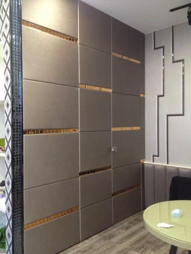2015简欧电视背景墙电视墙造型软包硬包