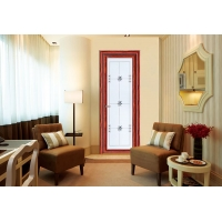 亚材门窗唯美平开门 卫生间门 TP017