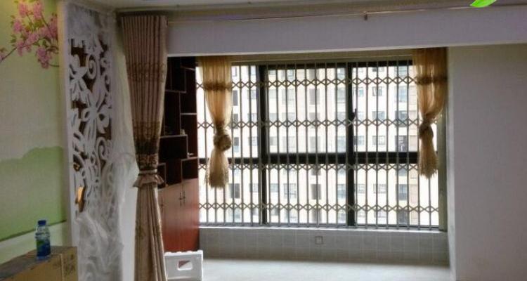 南京坤宁铝合金小花式推拉防盗窗