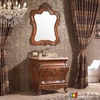 成都居鲁士卫浴--居鲁士简欧浴室柜--落地浴室柜--3309