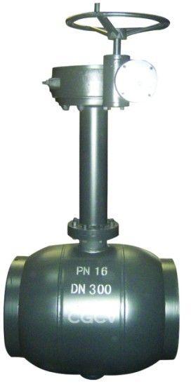 埋地蜗轮焊接球阀图片