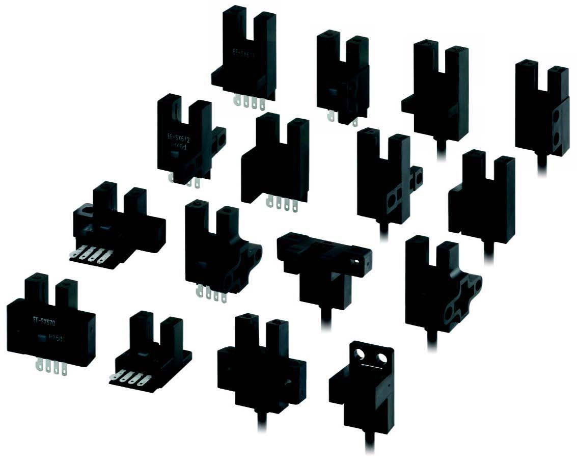 欧姆龙ee-sx670槽型传感器