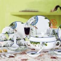 陶瓷餐具 欧式陶瓷套装餐具定制 家用餐具
