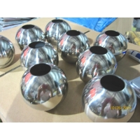 供应广东不锈钢直径60MM 通孔圆球